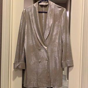 Shimmer blazer dress